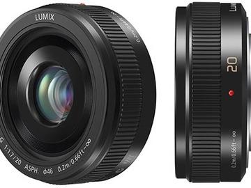 Rent: Panasonic LUMIX G 20mm f/1.7 II
