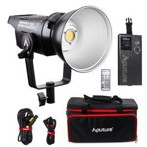 Aputure 120d ii Light Dome ii C stand