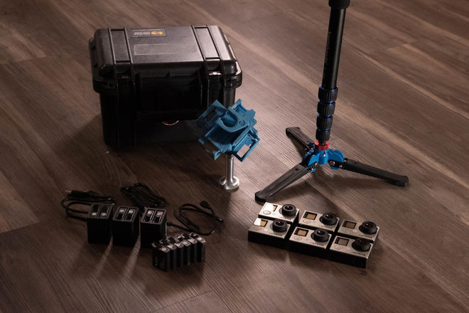 360Heroes GoPro Rig BUNDLE 8K Res EVERYTHING INCLUDED