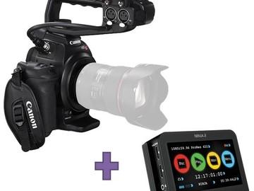 Rent: Canon C100 w/ Atomos Ninja II