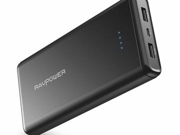 RAVPower 20000mAh USB External Battery Pack