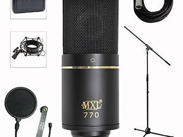 MXL 770 Podcast/ADR Microphone Package