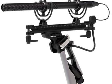 Rode NTG4+ Shotgun Microphone Boom Package