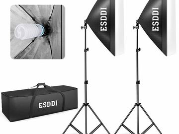 "ESDDI 20""X28"" Softbox Lighting Kit 2 x 135W Bulbs"