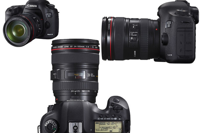 Package Canon 5D mark 3 + zoom lense 24-105mm f4 and more!
