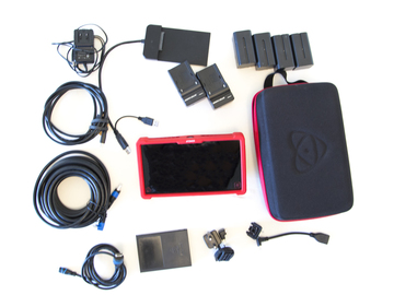 Atomos Ninja Assassin 4K Recorder 4 Batts and 2 SSDs