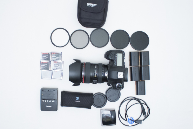 Canon 5D Mark III  Package with 24-105mm Lens (ML RAW)