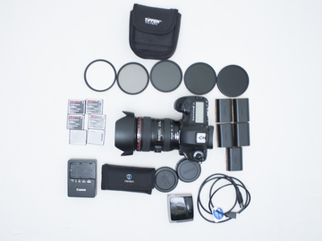 Rent: Canon 5D Mark III Basic Package (RAW) with 24-105mm Lens