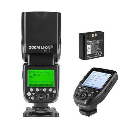 Godox V860 IIS Flash & Godox XProS Wireless Trigger (Sony)