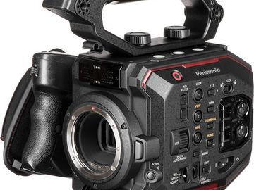 Cinema Camera Package: Panasonic EVA1, Atomos Shogun, Tripod