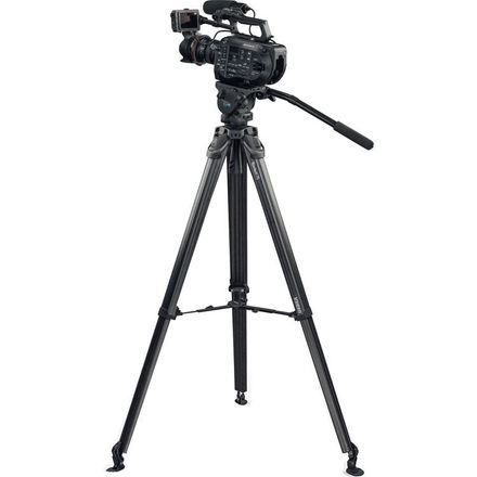 Manfrotto N12 Head with Vinton Flowtech Tripod