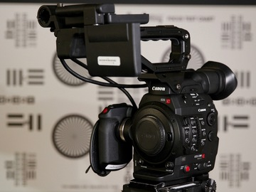 Canon C300 mII EF Camera With Canon EF 24-105mm L