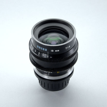 Zeiss B-Speeds - Rehoused by Samcine - 3 Les Set