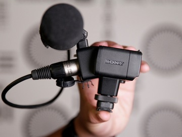 Rent: Sony XLR-K2M XLR Adapter Kit with Microphone