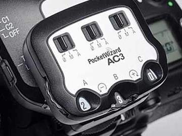 Rent: PocketWizard AC3 ZoneController + miniTT1 for Canon