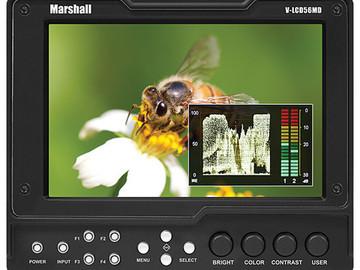 "Marshall Electronics V-LCD56MD 5.6"" HDMI Monitor + LP-E6 Pan"