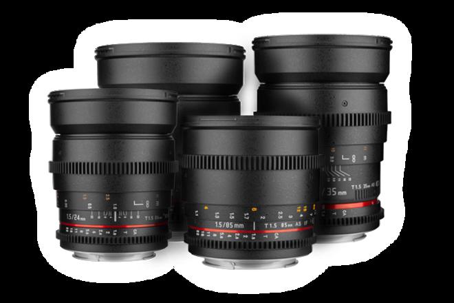 MFT Rokinon Cine DS Lens Set - 7.5, 16, 35, 50, 85