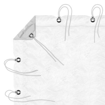 6x6 Silent Sail 1/2 Grid Cloth