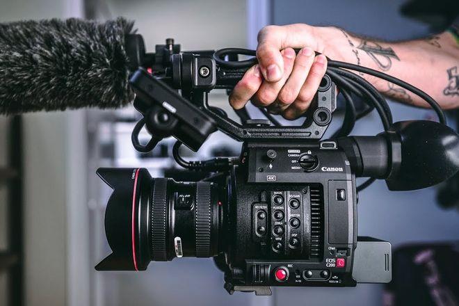 Canon EOS C300 Mark II (w/ 2 cards, 2 batteries, inc lens)