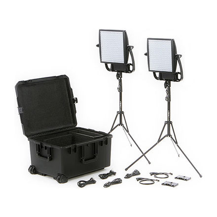 LITEPANELS ASTRA 6x BI-COLOR LED DUO 2-LIGHT KIT