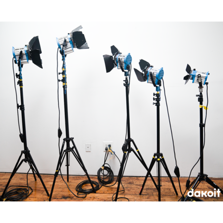 "Arri Fresnel 5-Light Kit (AKA ""The Michael J. Fox"")"