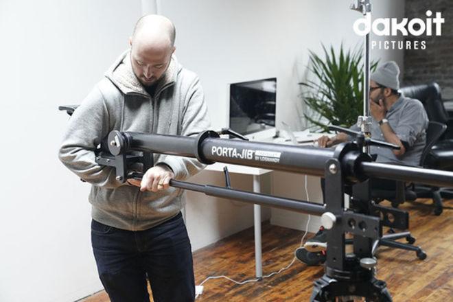 Losmandy Porta-Jib Traveller with Variable Arm Length