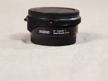 Rent: Metabones EF - E Mount T Speed Booster ULTRA