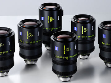 ARRI Master Anamorphic Lenses Set of 5