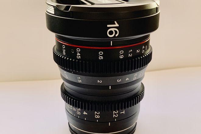 Meike MFT 16mm T/2.2 Cine Prime