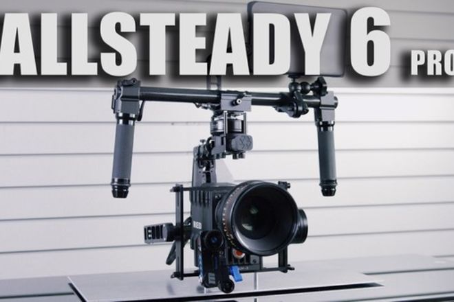 Allsteady 6 // 3-Axis Camera Gimbal