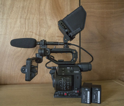 Canon EOS C200 with Accessories