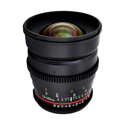 Rokinon 24mm T1.5 Cine Lens for Canon EF-Mount