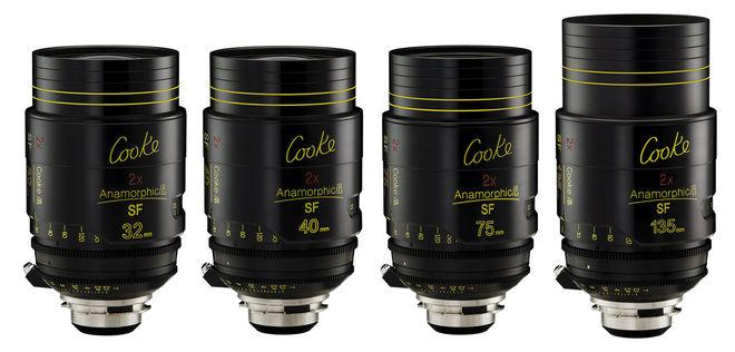 Cooke i Anamorphic SF 4 Lens Kit (32, 40, 75, 135mm)