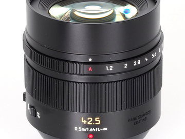 Rent: Panasonic LUMIX G Leica DG Nocticron 42.5mm f/1.2