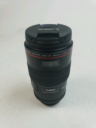 Canon EF 100mm f/2.8L IS USM Macro Lens for Canon SLR