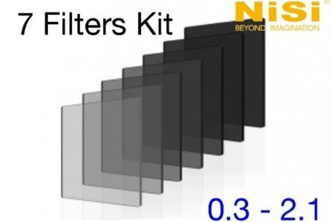 Nisi 4x5.65 ND Filter 0.3 - 2.1 Nano IRND