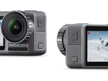 Rent: 2x DJI Osmo Action Cameras - 4k