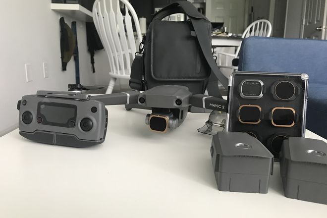 DJI Mavic 2 Pro Quadcopter w/ Accessories & Filters