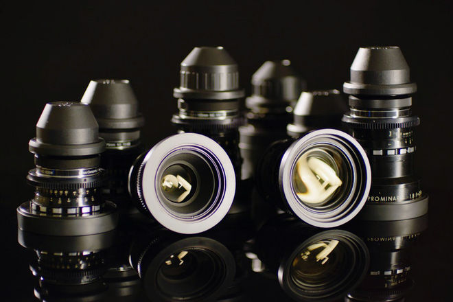 Kowa Cine Prominar Spherical Lens Set