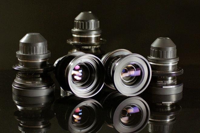 Lomo Standard Speeds Spherical Lens Set
