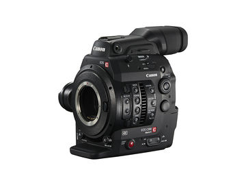 Rent: Canon C300 Mark II Basic Package with Zacuto VCT Rig