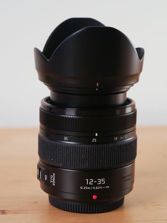 Panasonic Lumix 12-35mm f/2.8 ASPH II zoom lens