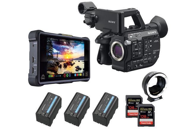 Sony FS5 II RAW Deluxe Kit (w/ Atomos, EF Mount)