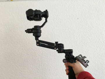 Rent: DJI Osmo w/ Z-axis add-on, 2 bats, More