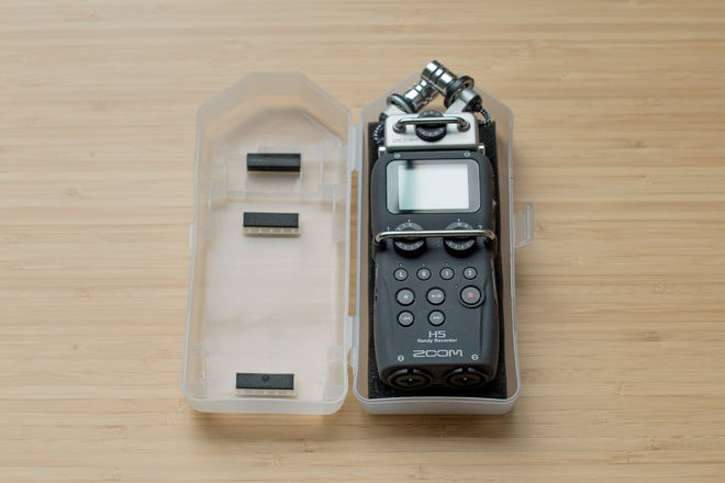 Zoom H5 Recorder w Interchangeable Microphone System