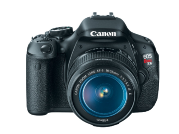 Rent: Canon Rebel EOS T3i