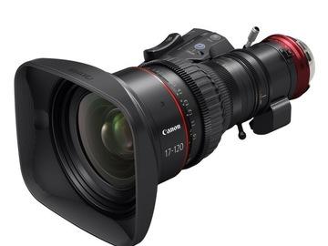 Rent: Canon Cine-Servo 17-120mm T2.95 Lens PL Mount
