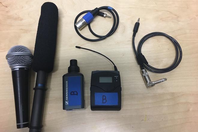 Sennheiser ew 100 G2 Boom / Hand Mic Kit