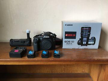 Canon EOS 5D Mark IV - w/ Canon LOG