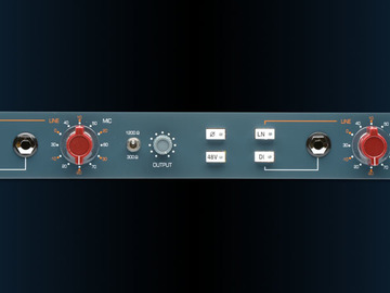 Rent: BAE 1073MP Dual-Channel Mic Preamp